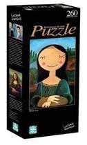 Jogo Quebra-cabeça Releituras de Arte Puzzle 260pçs Nig -