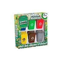 Jogo Reciclagem Lixeira Educativa Infantil - Fenix