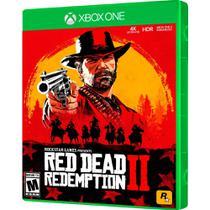 Jogo red dead redemption 2 inglês e português xbox one -