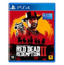 Jogo Red Dead Redemption 2 PS4-Take Two -