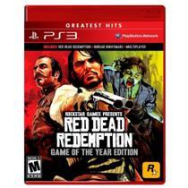 Jogo Red Dead Redemption Edição Jogo Do Ano Goty - PS3 - Rockstar Games