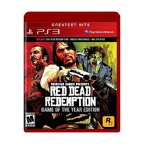 Jogo Red Dead Redemption (Game of the Year) - PS3 - Rockstar Games