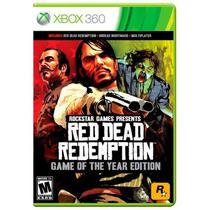 Jogo Red Dead Redemption (GOTY) - Xbox 360 - Rockstar Games