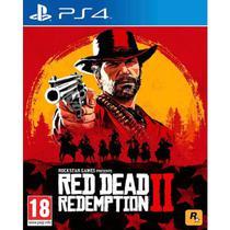 Jogo red dead redemption ii - ps4 - Rockstar Games