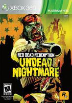 Jogo Red Dead Redemption Undead Nighmare (seminovo) - Xbox360 - Rockstar Games