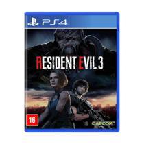 Jogo Resident Evil 3 - PS4 - Capcom