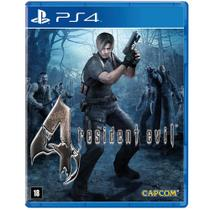 Jogo Resident Evil 4 - Remastered - PS4 - Capcom