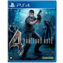 Jogo Resident Evil 4 Remastered - PS4 - Capcom