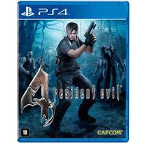 Jogo Resident Evil 4 Remastered - PS4 - Capcom
