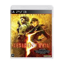 Jogo Resident Evil 5 (Gold Edition) - PS3 - Capcom