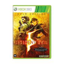 Jogo Resident Evil 5 (Gold Edition) - Xbox 360 - Capcom
