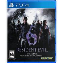 Jogo Resident Evil 6 - PS4 - Capcom