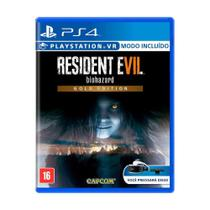 Jogo Resident Evil 7: Biohazard (Gold Edition) - PS4 - Capcom