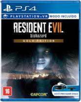 Jogo Resident Evil 7 Gold Edition - Capcom