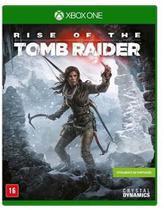 Jogo Rise Of The Tomb Raider - Xone - Crystal Dynamics