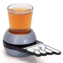 Jogo Roda Shot c/ 1 Copo de Vidro Drinks Livon -