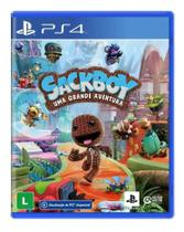 Jogo Sackboy: Uma Grande Aventura - PS4 - Sony