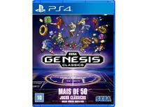 Jogo Sega Genesis Classics - Ps4 - Mídia Física Lacrado -
