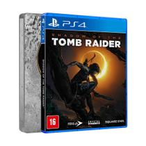 Jogo Shadow of the Tomb Raider (Steelbook Edition) - PS4 - Square enix