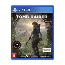 Jogo Shadow of Tomb Raider (A Definitive Edition) - PS4 - Square Enix
