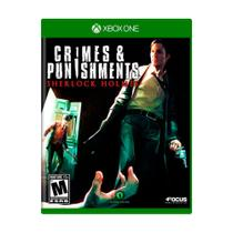 Jogo Sherlock Holmes: Crimes  Punishments - Xbox One - Focus home interactive