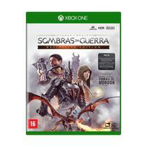 Jogo Sombras da Guerra Definitive Edition Xbox One - Mídia Física Lacrada - Xboxone