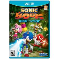 Jogo Sonic Boom: Rise of Lyric - Wii U - Sega
