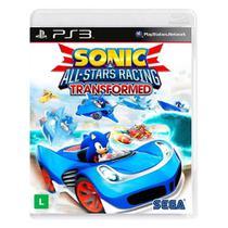 Jogo Sonic e All-Stars Racing Transformed - PS3 - Sega