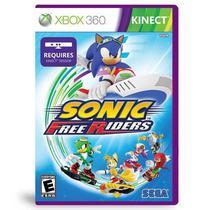 Jogo Sonic Free Riders - Xbox 360 - Sega