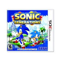 Jogo Sonic Generations - 3DS - Sega