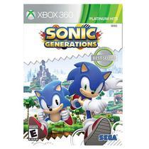 Jogo Sonic Generations - Xbox 360 - Sega