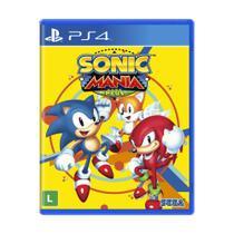Jogo Sonic Mania Plus - PS4 - Sega