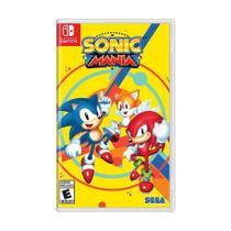Jogo Sonic Mania - Switch - Sega
