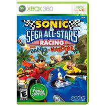 Jogo Sonic & Sega All-Stars Racing With Banjo-Kazooie - Xbox 360 -