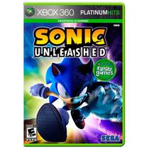 Jogo Sonic Unleashed - Xbox 360 - Sega