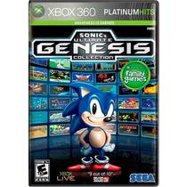 Jogo Sonics Ultimate: Genesis Collection - Xbox 360 - Sega