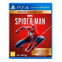 Jogo Spider Man - Edição Jogo do Ano - PS4 - Playstation