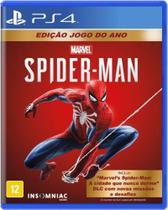 Jogo Spider-Man Edição Jogo Do Ano - Ps4 - Sony -