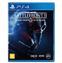 Jogo Star Wars Battlefront 2  Edicao Trooper De Elite Deluxe Ps4 - Ea