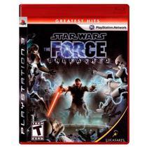 Jogo Star Wars: The Force Unleashed - PS3 - Lucasarts