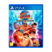 Jogo Street Fighter 30th Anniversary Collection - PS4 - Capcom