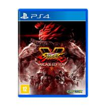 Jogo Street Fighter V (Arcade Edition) - PS4 - Capcom