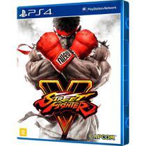 Jogo Street Fighter V - c Mídia Física Original Lacrado - Capcom