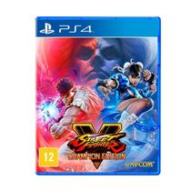 Jogo Street Fighter V Champion Edition Play Station 4 Capcom -