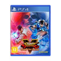 Jogo Street Fighter V (Edição dos Campeões) - PS4 - Capcom