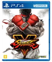 Jogo Street Fighter V - PS4 Novo Capcom -