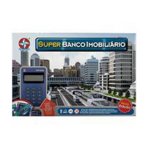 Jogo Super Banco Imobiliário Com Cartão Estrela -
