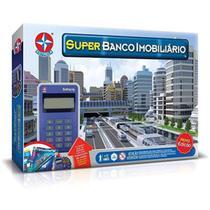 Jogo Super Banco Imobiliário com Maquina de Cartão - Estrela -