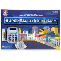 Jogo Super Banco Imobiliario Estrela 0034 -