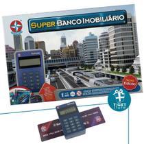 Jogo Super Banco Imobiliário Estrela Original C/ Maquininha -